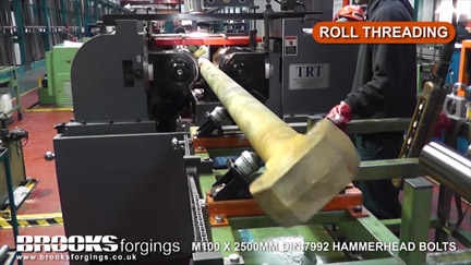 Hammerhead Bolts - DIN 7992 - Manufacturing Video