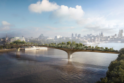 Balustrade Production For £175M London Garden Bridge Project