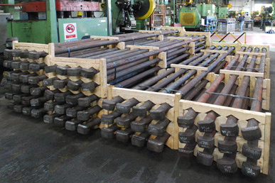 Brooks Forgings Produce M90 X 4550mm Hammerhead Bolts for New Fossil Free Kiln Expansion Project in Sweden.