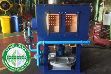 Temperature Controlled And Programable Bar End Heating Furnaces Installed To Reduce Carbon Footprint.