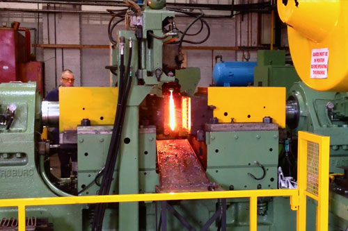Reduced Energy Impacter Forging Installed at Brooks