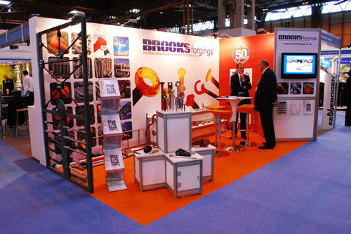 Brooks Exhibit at the Infrastructure Show 2010