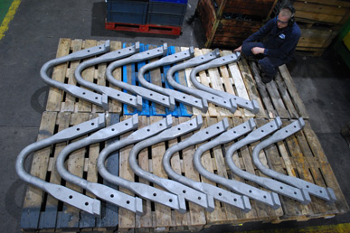 Collaboration between Brooks and W.H.Tildesley on prestigious forging project