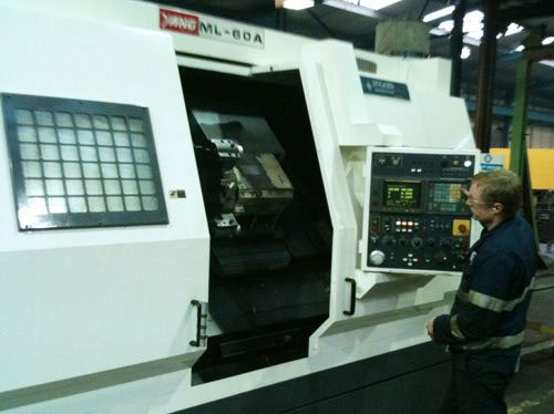 Heavy Duty Lathe added to Machining Department
